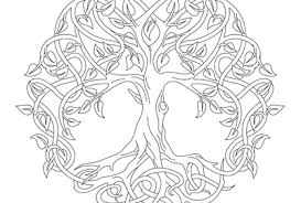Tree Of Life Coloring Page Archives Windingpathsart