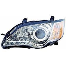subaru legacy replacement headlight assembly black