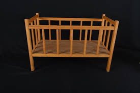 Badger Basket Doll Bed by Baby Doll Crib Wood Wooden Doll Cradle With Bedding Badger