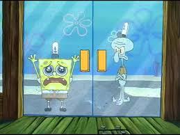 spongebob that sinking feeling youtube 100 images squid on