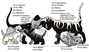 warrior cat names generated warrior cat 5 by jadespark on deviantart