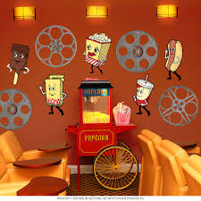 Classic Movie Reel Cut Out Wall Decal In 2019 Retro Wall Art
