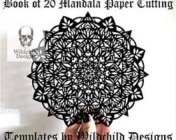 20 X Mandala Paper Cutting Templates SVG JPEG Vinyl Wildchild Designs Commercial Personal Use Bundle Intermediate Advanced