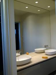 crafty ideas mirror wall bathroom houzz design cabinet lighted