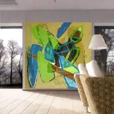 moderne wandgestaltung in einem wohnzimmer