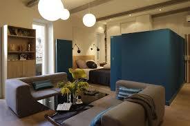 cloison chambre salon studio type loft avec cloisons chambre ouvertes archi design