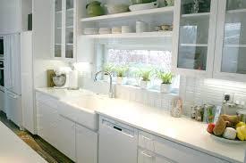 backsplash subway tile for kitchen glossy white glass subway tile