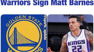 Golden State Warriors Void Signing Of Jose Calderon For Matt ... Kevin Durant Matt Barnes Russell Westbrook Trash Talk Sicom Vs Golden State Warriors 15022017 15pts Youtube Retiring Announces Tirement From Nba Upicom His The Ny Daily News Ian Clark James Mcadoo On Andre Iguodala Full Duel Hlights 2014 Playoffs Chases John Henson Into Bucks Locker Room The Car Derek Fisher Crashed Reportedly Belongs To Hlights Hudl Puts Back Jazz Brink