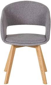 wcl stuhl esszimmerstuhl grau eiche skandinvisches design