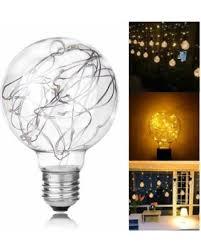 deal alert lemonbest led light bulb e27 base g80 starry 0 8w