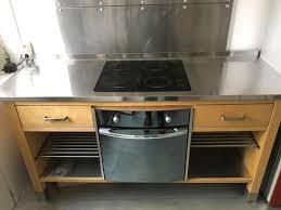 meuble cuisine four plaque bon plan meuble cuisine ikea värde four et plaque vitro en