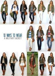 Best 25 Military Jacket Outfits Ideas On Pinterest