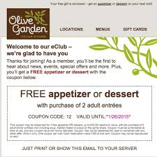 Olive Garden Printable Coupons Rock And Roll Marathon App