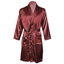 robe de chambre satin homme amazon fr peignoir satin homme