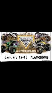 100 Monster Trucks San Antonio Jam Alamodome From 12 To 13 January
