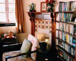 Living Room With Fireplace And Bookshelves by Bookshelf And Fireplace In The Forest Room Picture Of Sunnymead