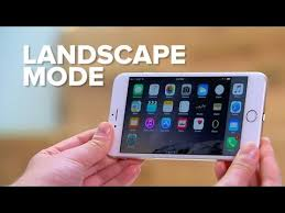 Turn the iPhone sideways for extra landscape features
