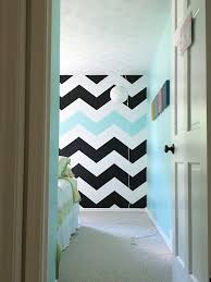 Full Size Of How To Paint Chevron Stripes Turquoise Black White Wall Bedroom Home Design