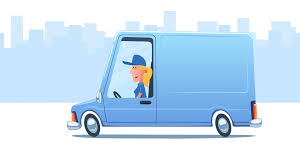 Delivery Service. Cartoon Courier Carrying Big Box. Looped ... Delivery Car Vector Icon Truck Service Portland Oak Fniture Warehouseoak Warehouse Cargo And Logo Stock Image Delivery With Warehouse Service Icon Boston To New York Freight Trucking Company Hand Drawn Truck Logistics Transport Van Fast Western Cascade 2005 Ford E350 Utility Work Box The Images Collection Of Photo Avopixcom Hand