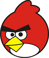 Angry Birds Black And White Clipart China cps