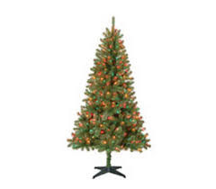 You Might Not Be Ready To Think About Christmas Quite Yet But We Found A Great Price On Some Artificial Pre Lit Trees Walmart Has Several 65