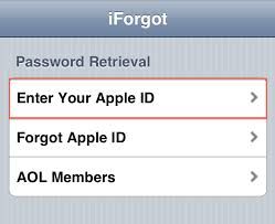 iForgot Apple ID & iForgot iCloud Security Questions Re Hub