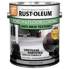 Drylok Concrete Floor Paint Sds by Rust Oleum Epoxyshield 1 Gal Tan Satin Basement Floor Coating Kit