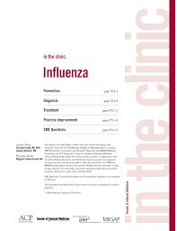 Asymptomatic Viral Shedding Influenza by Influenza Annals Of Internal Medicine American College Of