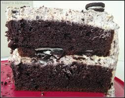 Oreo Cake with Oreo Whipped Cream Frosting – Makin it Mo Betta