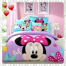 Minnie Mouse Twin Bedding by Minnie Mouse Queen Size Bedding Set Bedding Sets Kids Teens At