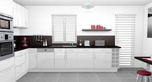et cuisine cuisine moderne blanche et inspirations et decoration idées