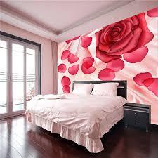 Romantic Rose Petal Photo Wallpaper Flowers Wall Mural Silk Larfe Art Room Decor Bedroom