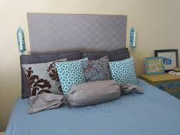 Cheap Upholstered Headboard Diy by Bedroom Wonderful An Easy One U2026 A Diy Upholstered Headboard