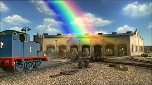 Thomas Halloween Adventures Dailymotion by Thomas And The Rainbow Thomas The Tank Engine Wikia Fandom