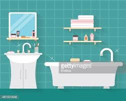 bathroom with furniture clipart 1 566 198 clip arts
