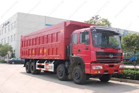 Hongyan 8x4 Dump Truck-Huawei Machinery And Electronics Imp.& Exp.CO ...