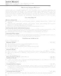 Marketing Manager Resume Template General Sample Restaurant Business Management Examples Bar Analyst Cv Uk