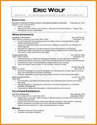 Volunteer Experience On Resume Examples Best Of Un Sample For Volunteering
