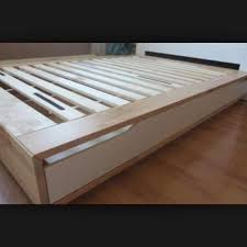 Ikea Mandal Dresser Canada by Find More Ikea Mandal Queen Size Platform Bed No Mattress No