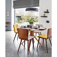 House By John Lewis Radar 6 Seater Round Dining Table Walnut Conventional Room Chairs Loveable