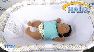 Halo Bed Rail by Halo Bassinest Newborn Insert From Halo Innovations Youtube