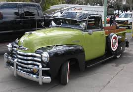 Pea Soup Green & Black Chevrolet Pickup Truck   Chevy Trucks ... 1951 Chevrolet Truck Just A Hobby Hot Rod Network 3100 Second Time Since 59 Ebay Chevy No Reserve Rat Patina C10 F100 Truck Maintenancerestoration Of Oldvintage Vehicles Pickup For Sale On Classiccarscom My Classic Garage 6400 Grain Item Dc3945 Sold August 12 Ton Rm Sothebys 1300 Fivewindow The Curry Troys Tractors