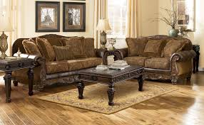 Brown Leather Couch Decor by Incredible Leather Furniture With Luxurious Couch Decor Combined