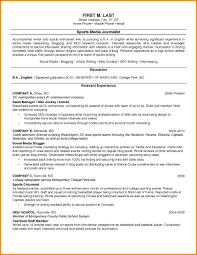 College Student Resume Samples In Resumes