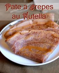 pâte a crêpe au nutella au chocolat facile et rapide amour de