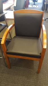 100 Reception Room Chairs Brown Office Furniture Guest Lobby Table Furniture Side Chair With