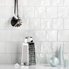 2x8 Ceramic Subway Tile by Montauk Sky 4x4 Ceramic Wall Tile Wall Tilebar Com