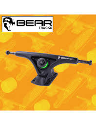 Bear Grizzly 5.01 Black 181mm 52° Attacchi Longboard Freeride Trucks ...