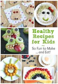 These Recipes For Kids Are The Perfect Springboard To Hours Of Summer Fun And Deliciously