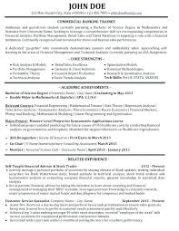 Banking Resume Sample Entry Level Samples Resumes Bank Best Templates Images On